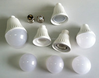 Hot sale Plastic and aluminum A50 A60 led bulb spare parts