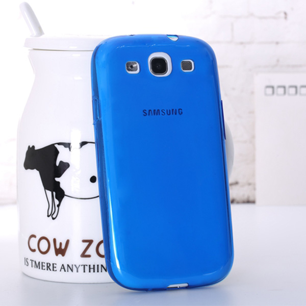 0.3mm new ultra thin tpu gel silicone soft case for samsung galaxy s3 i9300