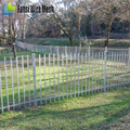 high quality Canada hot-dipped galvanized steel palisade fencing