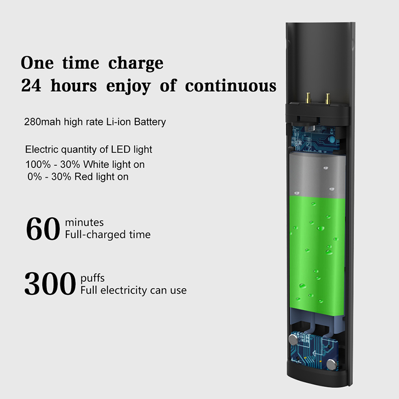 2019 trending products flat e pen vape disposable pod vape e cigarette empty