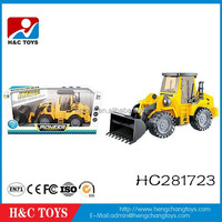 Hot sale plastic friction power toys cars moving truck for kids HC281723