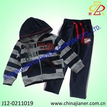 wholesale Hooded kids garments boy winter collection