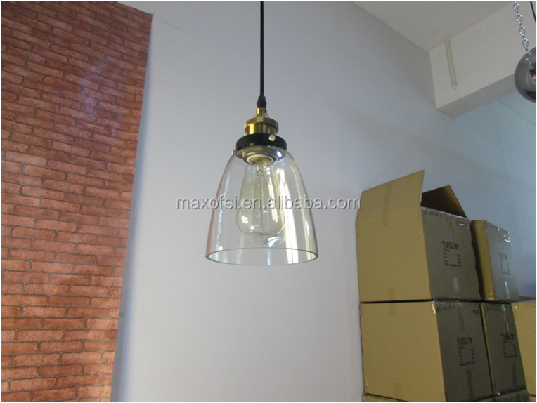 Antique style glass pendant chandelier <strong>lighting</strong> for office/kitchen