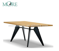 2016 modern designer good quality table Jean Prouve em Table replica dining table home furniture
