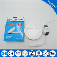 Good quality thin 4w led downlight panel light round residential light hot sale