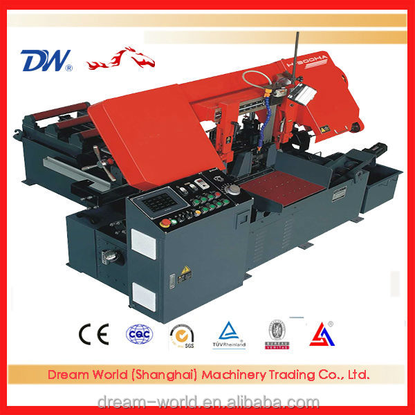 automatic metal band saw machine , metal band saw cutting machines , band saw machine parts