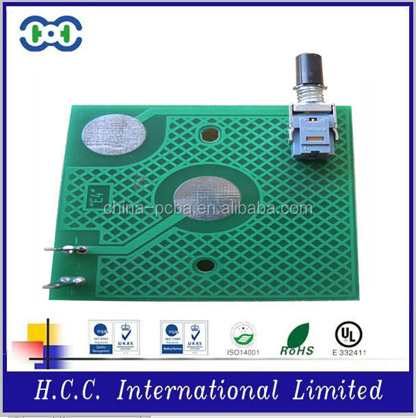 shenzhen high quality FR4 multilayer PCB&PCBA for pcb controller