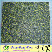 Rubber Gym Floor Tile MADE IN CHINA Cheap price