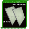 Latest products high power super slim only 10.4mm indoor led panel 620x620