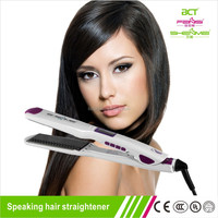 Brand new electric hair straightening machine with comb