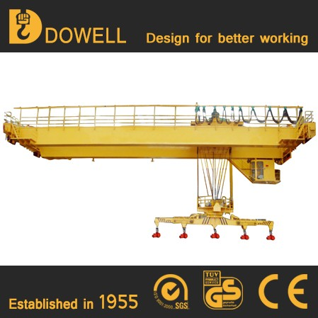 Customized QD Model Best Selling factory price bridge crane 16 ton