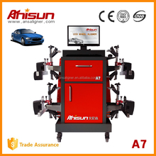 China laser 4 wheel alignment factory for auto garage service