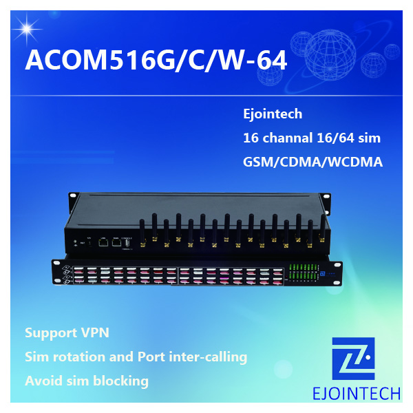 new ejoin oem service wavecom module 16 ports cdma voip gateway for free international call