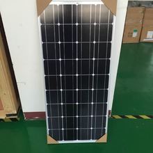100w 12V mono crystalline solar panel for caravan RVS motor homes