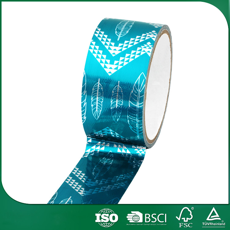 promotional gift packing waterproof self adhesive tape