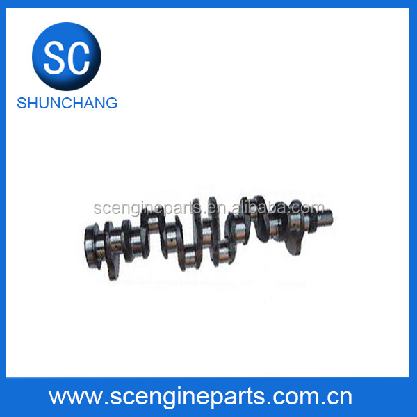 YUCHAI machine YC6B180 engine crankshaft for HIGER bus