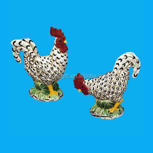 handmade ceramic chicken