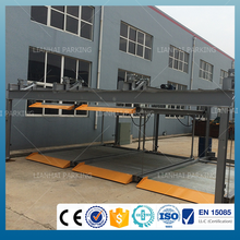 Qingdao Lianhai smart and mechanical puzzle parking system with CE