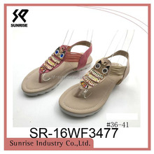 New feminine fashion sandal 2016 women shoes
