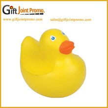 Promotional Cheap PU Stress Ball, PU Foam Mom Duck Shape Stress Ball