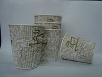 8oz ripple paper cups,hot drink cups,cold drink cups,food container,chip box,cup lids,cup sleeves