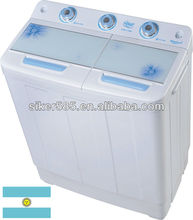 Twin tub spin dryer washer