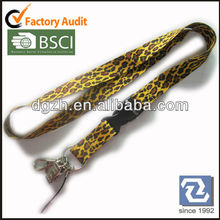 Sublimation polyester neck straps, Fashion polyester lanyards