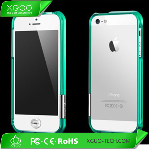 hybrid 2in 1 for iphone 5 aluminium bumper