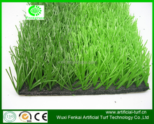 50 mm bicolor PP material sport fake turf /sod grass with happy price widely used for soccer ,basketball court and so on .