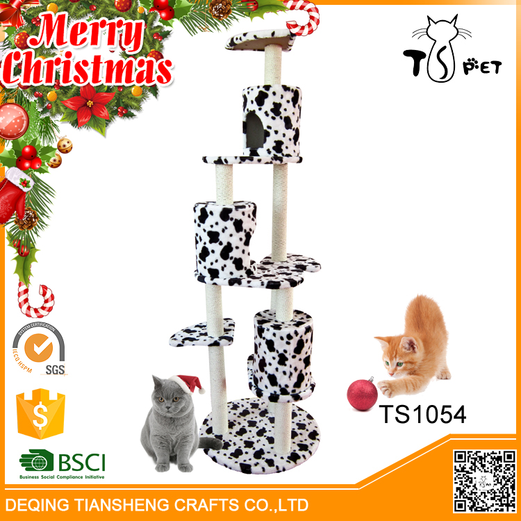Christmas Sales Different Colors Sisal Dog Cat House