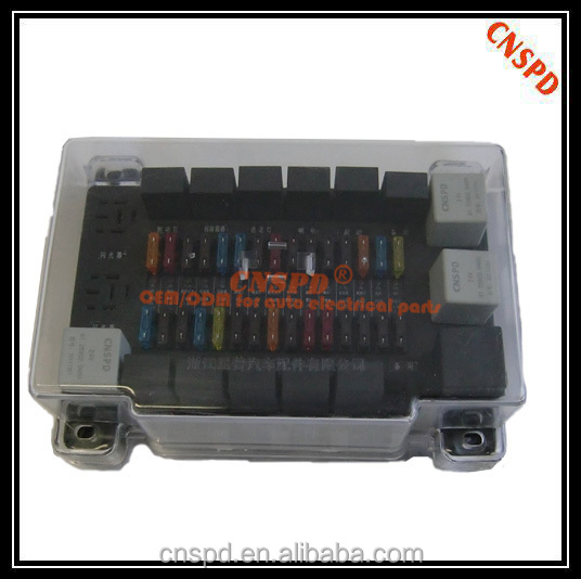 Rear universal type electrical centers for Agricuture truci,12v fuse and relay centers for Car,truck,light truck