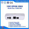 1GE GEPON Bridge ONU with 1 EPON Interface for FTTH Network Solution