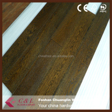 American walnut and oak engineered parquet wood floor