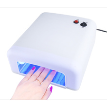 Best818 New Arrival 36W UV LED Nail Lamp Electric 4 LEDs Nail Dryer for All Gels with 30s/60s Button Perfect Thumb Solution