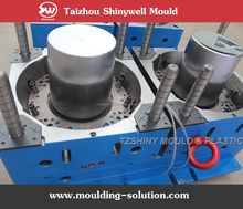 20 litre round paint plastic bucket mould