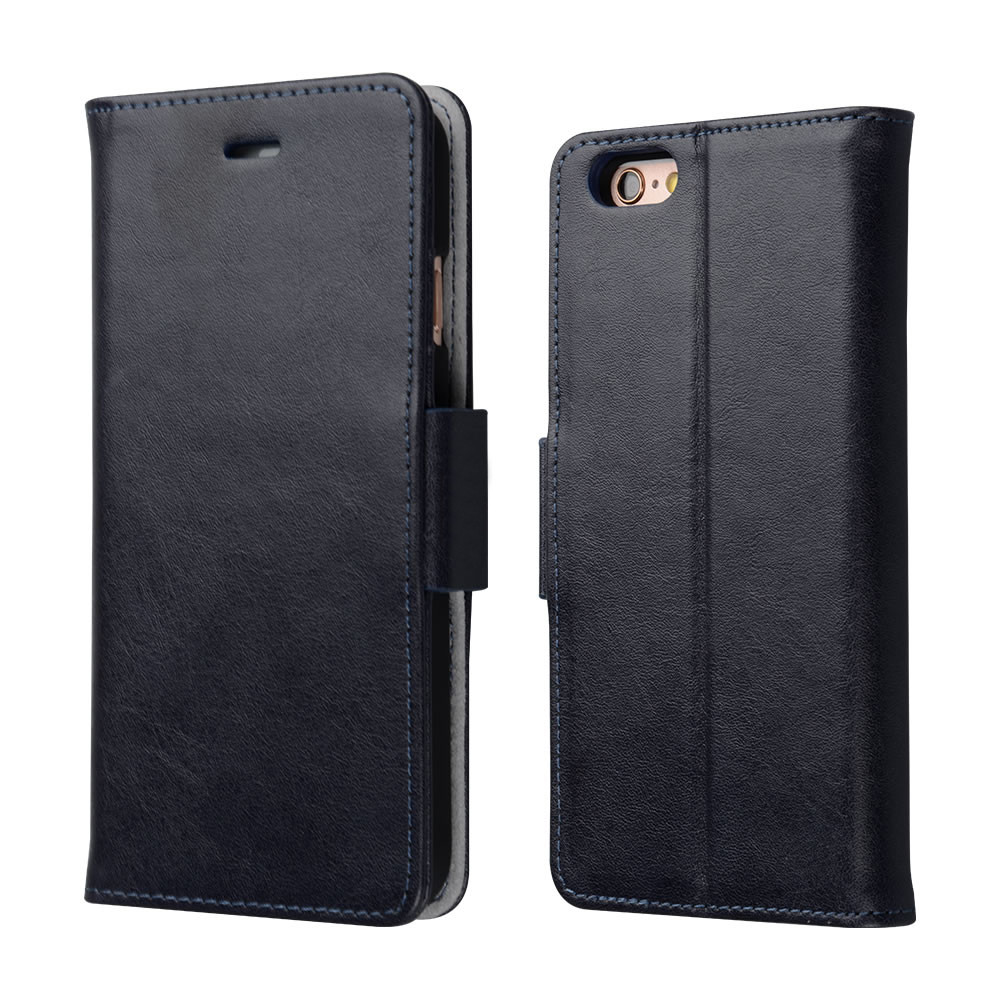 C&T Premium Detachable Wallet Stand Leather Phone Cover For IPhone 6S