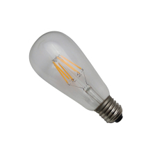 ST64 Edison Light Lamp For Cafe Hotel 2W/4W/6W/8W Smoked Cover Light Bulbs ST64 Led