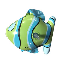 2017 best selling products big eyed animal inflatable fish toys