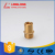 pex pipe brass press fittings brass male coupling/socket