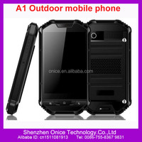 Dual sim rugged waterproof cell phone A1