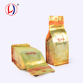 Flat Bottom Hot seal Food Pouch Potato Chips Packaging For Gift Items