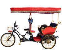 Factory directly three wheel passenger electric cycle rickshaw