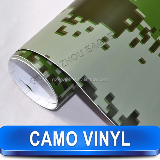 Camouflage Paper Lucky Color Film 30M Car Film 1.52*30M