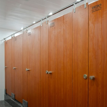 DEBO compact laminate office partition toilet cubicle partition