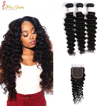 Wholesale indian virgin remy brazilian cuticle aligned human hair, cuticle aligned deep wave raw virgin remy hair from india