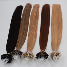 Top sale great quality micro/nano ring chinese hair,wholesale grade 9a virgin hair last a year