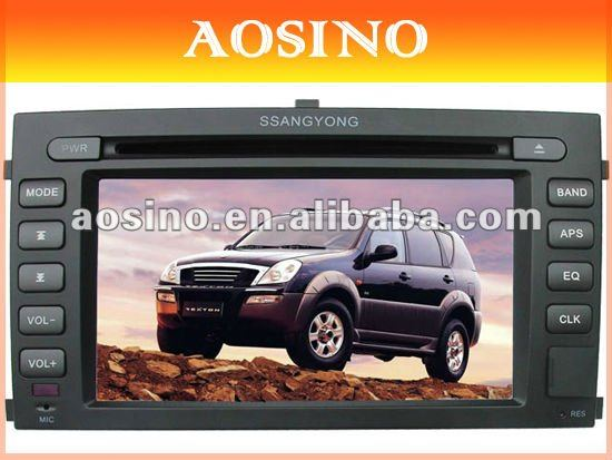 Special CAR DVD Player / Car Radio for SSANGYONG REXTON with gps