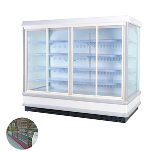 Big Exhibition Space Sandwich Display Fridge For Sale