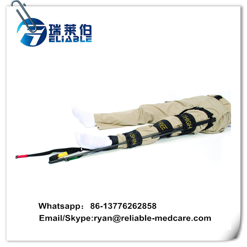 RM-TSH01 Portable military traction splint for limb fracture