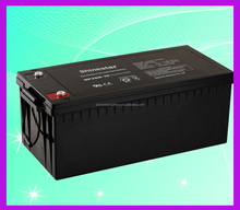 Rechargeable battery 12v 200ah AGM VRLA battery for UPS & solar system 10kw,50kw